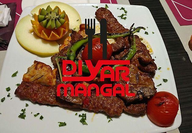 Heerlijke mixed grill voor 2 personen - Diyar Mangal Houtskoolrestaurant