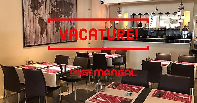 Vacature! - Diyar Mangal Houtskoolrestaurant