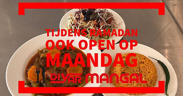 Ook open op maandag tijdens Ramadan - Diyar Mangal Houtskoolrestaurant