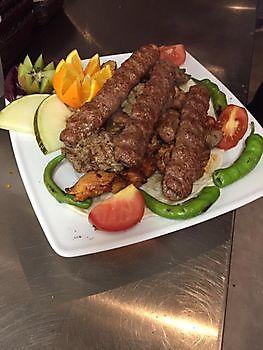 Adana kebap Diyar Mangal Houtskoolrestaurant