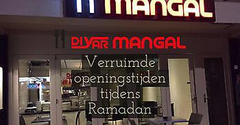 Speciaal menu en ruime openingstijden tijdens Ramadan 2017 Diyar Mangal Houtskoolrestaurant